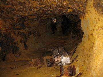 Nella miniera di Rosia Montana - Wikimedia Commons