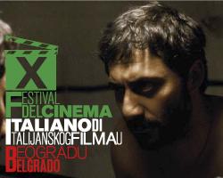 Locandina del film festival italiano a Belgrado