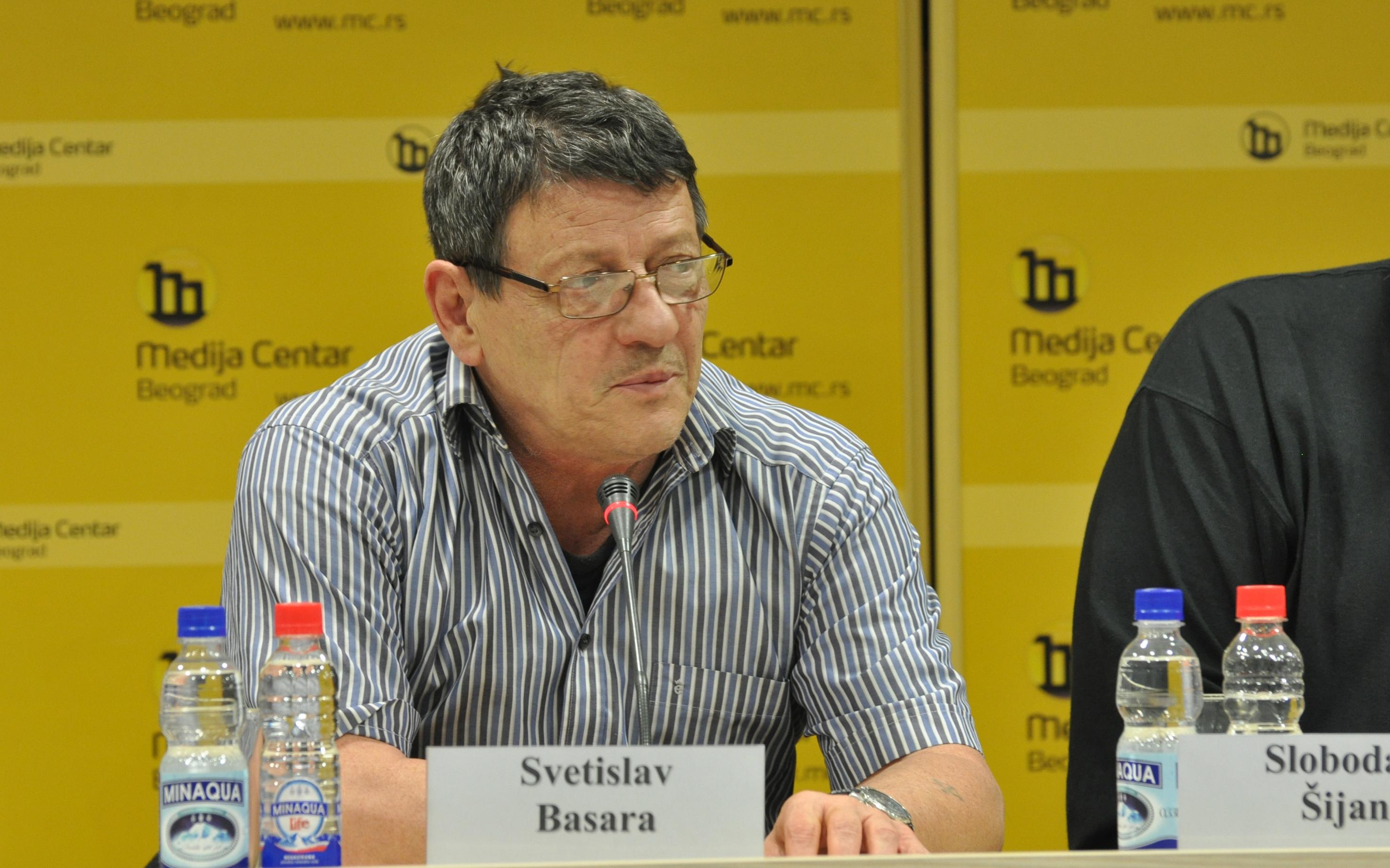 Svetislav Basara - foto Medija centar Beograd