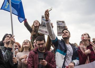Belgrado proteste (foto G. Vale)