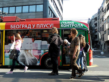 BusPlus Belgrade (photo F. Sicurella)