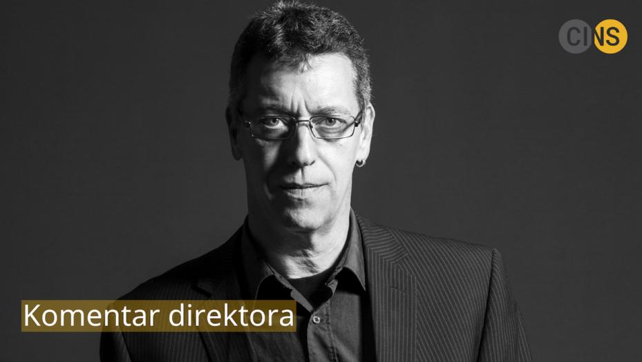Branko Čečen, direttore di CINS (foto © Vladimir Miloradović)