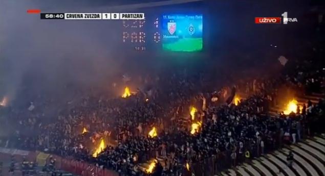 Derby Stella Rossa - Partizan
