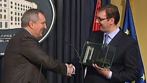 Rogozin i Vučić