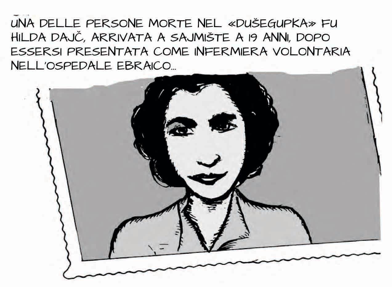 Storia a fumetti di Aleksandar Zograf dedicata alle lettere di Hilda Dajč pubblicata dalla rivista Popoli