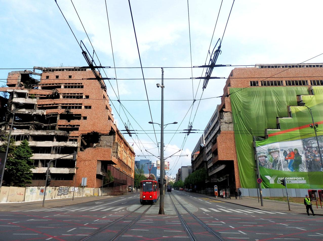 Belgrado, Generalštab (foto F. Sicurella)