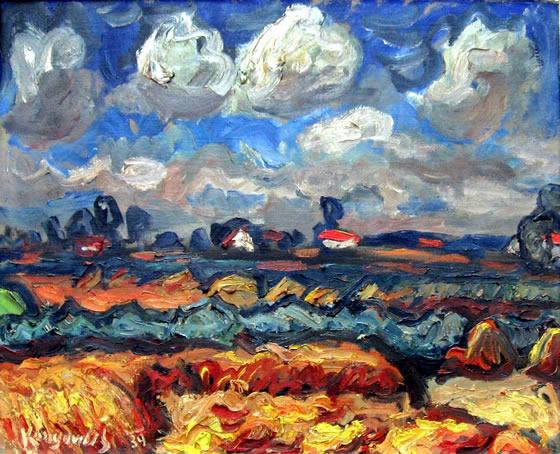 Il grano (Sombor, 1939). Galleria Konjović