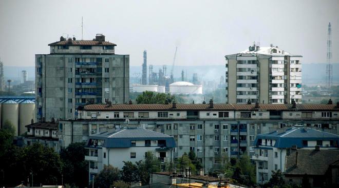 Pancevo, vista sulla città 2012 - foto di Andrea Pandini, Obc