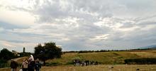 In marcia verso la Serbia (foto L. Moreni)