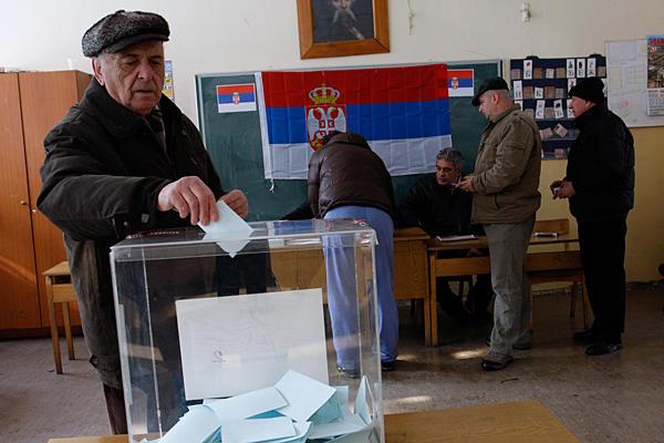Elezioni Serbia