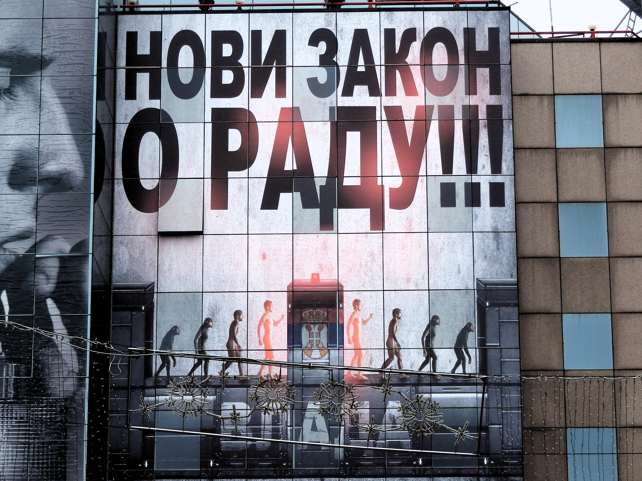 La nuova legge sul lavoro (foto F. Sicurella)