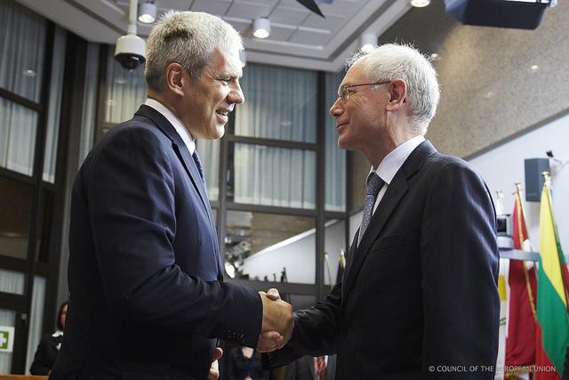 Boris Tadić ed Herman Van Rompuy
