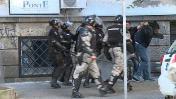 Ripresa della TV N1 durante l'incidente con Andrej Vučić (foto N1)