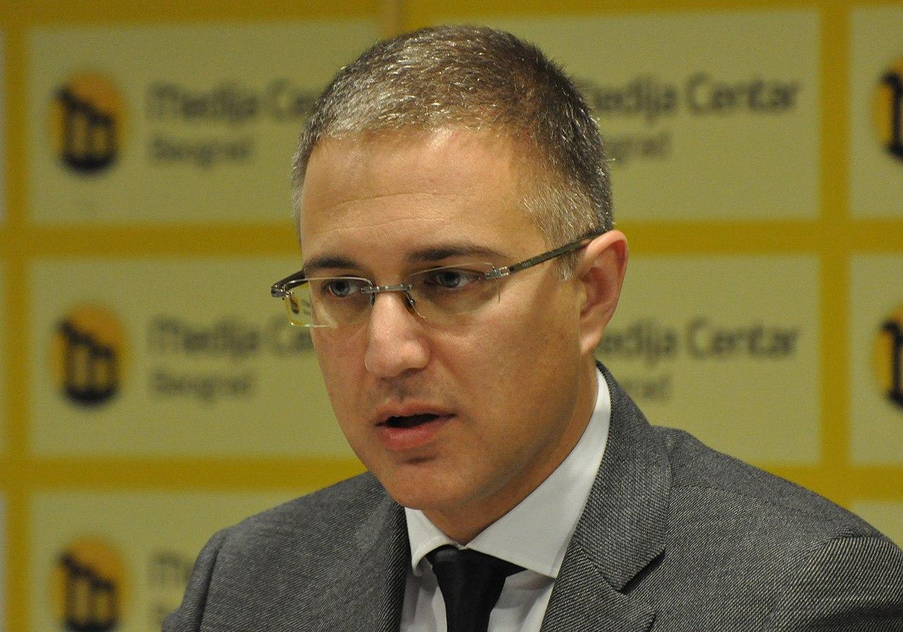 Nebojsa Stefanovic (عکس از Medija Centar بلگراد)