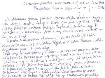Tratto dalla lettera di minacce indirizzata a Nedim Sejdinović - CINS.jpg