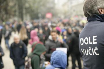 Tokom protesta 2019. godine (© Marko Marcello/Shutterstock)