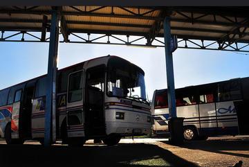 Una stazione degli autobus in Serbia (Nick Doyle/flickr)