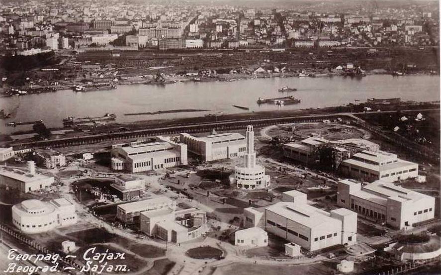 Staro Sajmište nel 1937 (foto wikimedia)