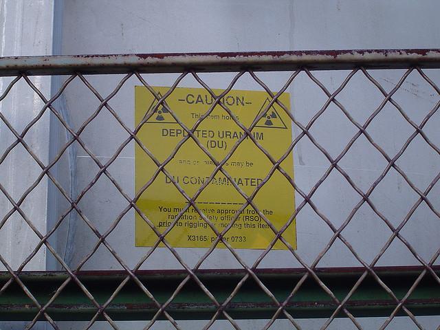 Contaminazione da uranio impoverito