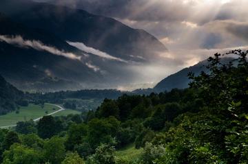 Paesaggio in Slovenia dopo una forte pioggia - © Samo Trebizan/Shutterstock