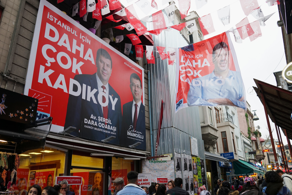 Manifesti elettorali a Istanbul (foto © Engin Sezer/Shutterstock)