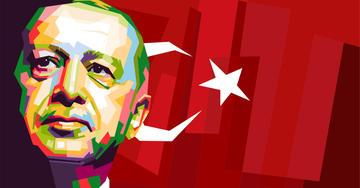 Recep Tayyp Erdoğan (asnan_ad/Shutterstock)