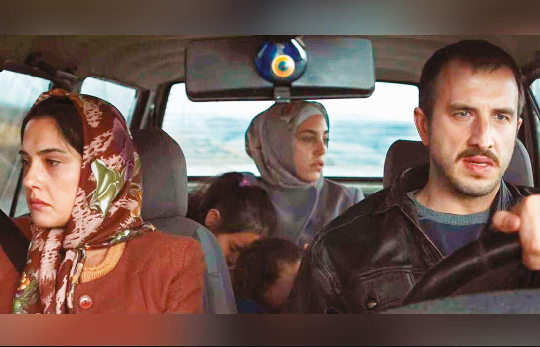 A still from the Turkish series Bir Başkadır