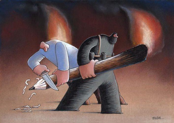 Vignetta di Musa Gümüş