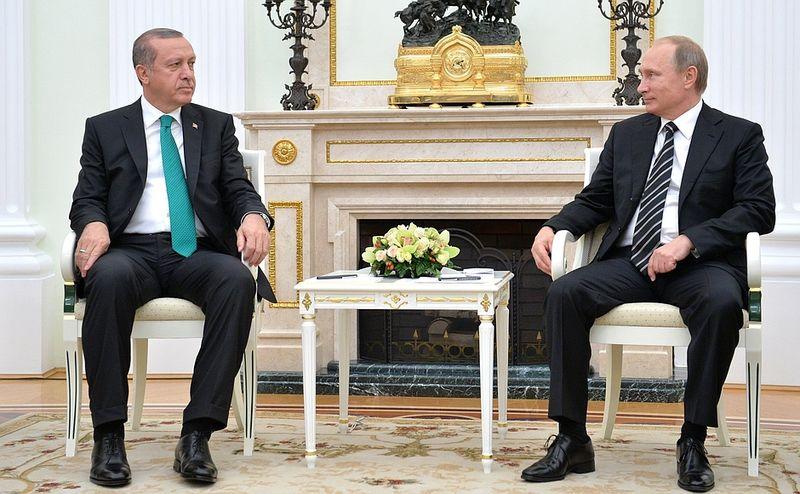 Erdoğan e Putin (foto kremlin.ru)