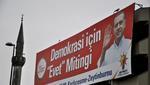 Manifesto della campagna elettorale dell'AKP del premier Erdoğan