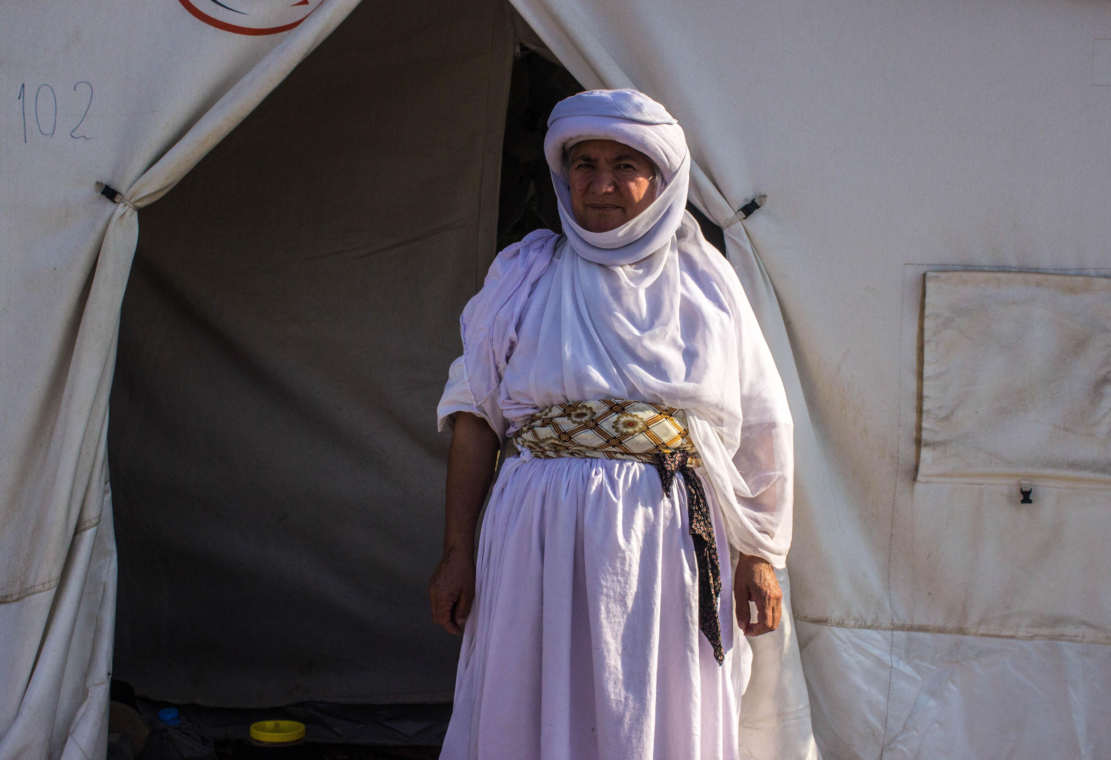 Rifugiati yazidi - foto di Ana Pazos
