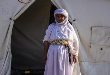 Yazidi refugees - Ana Pazos