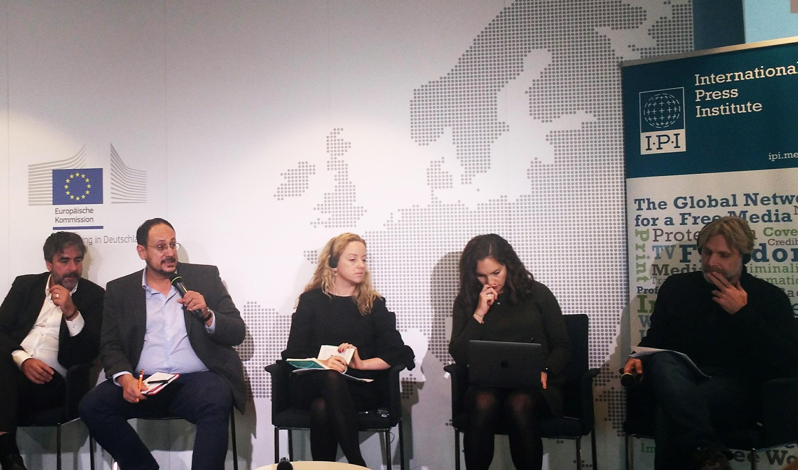 Un momento della conferenza di Berlino (foto F. Mat)