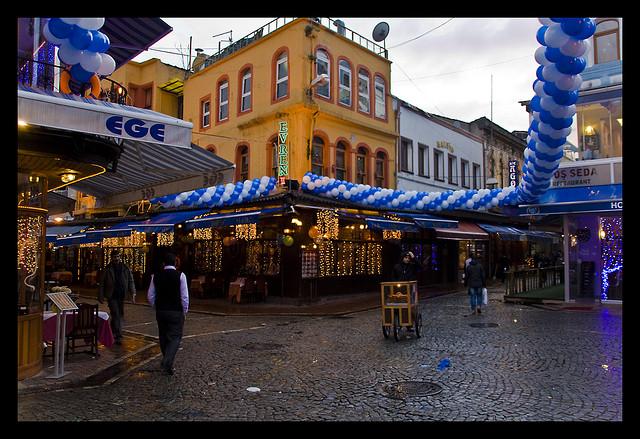 Per le strade di Kumkapı, Istanbul