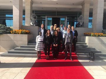 La delegazione in Turchia (© ECPMF)