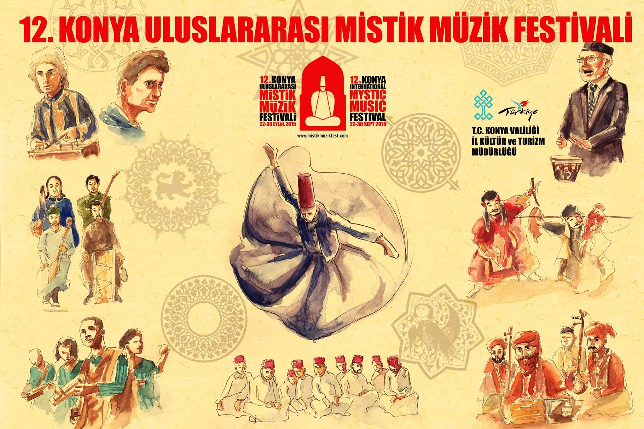 La locandina del Konya Mystic Music Festival