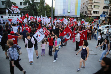 Manifestanti ad Istanbul - A.Geybullayeva