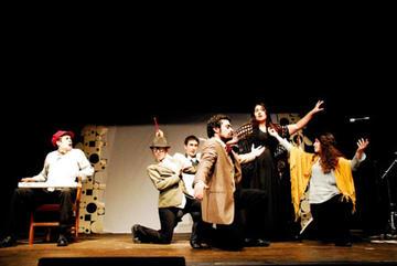 "The theatre company ""Beyoglu Kumpanya"""