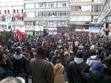 Manifestazione per la morte di Berkin Elvan - F.Mat
