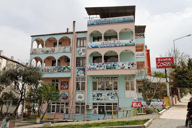 Denizli, paesaggio urbano