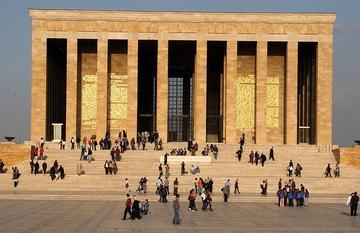 The mausoleum of Kemal Atatürk
