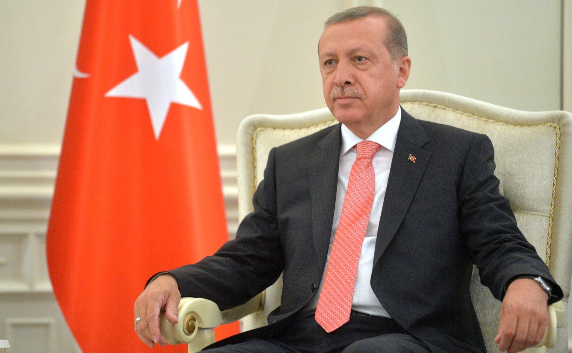 Recep Tayyip  Erdoğan (foto kremlin.ru)