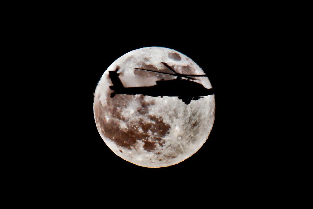 Elicottero americano in Iraq (Foto The Us Army, Flickr)