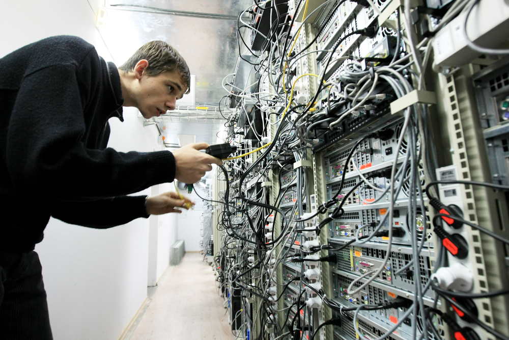 Kiev, worker of an IT company (© joyfull/Shutterstock)
