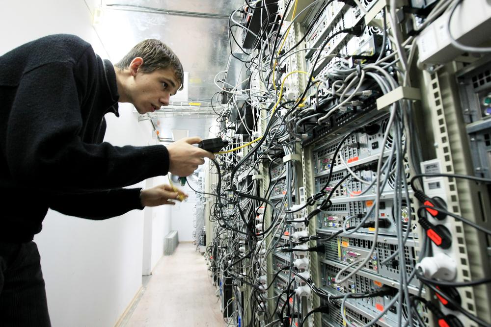 Kiev, lavoratore di un'azienda IT (© joyfull/Shutterstock)