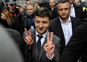 Il presidente Volodymyr Zelensky (foto © Sergei Chuzavkov/Shutterstock)