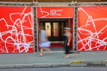 Uno degli ingressi delle sale cinematografiche del Sarajevo Film Festival