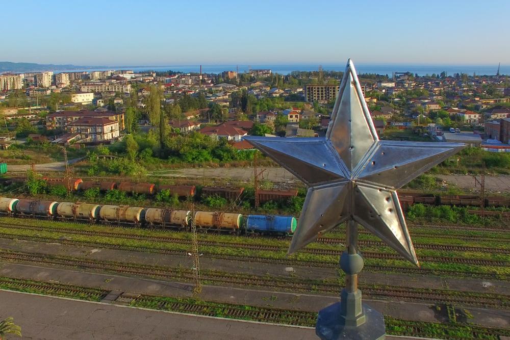 Vista aerea di Sukhumi, capitale dell'Abkhazia (© Vvicca1/Shutterstock)
