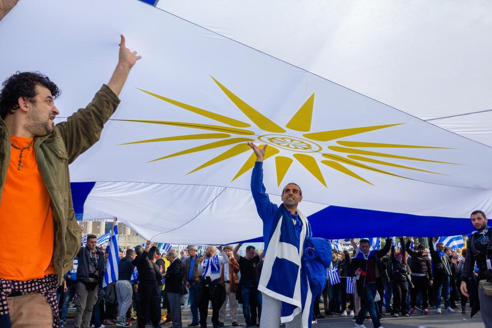 Proteste ad Atene contro gli accordi con la Macedonia - Teastock/Shutterstock