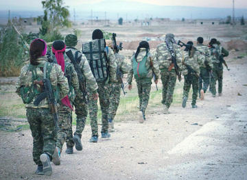 Siria, combattenti curdi del YPG - foto Kurdishstruggle - Flickr.jpg